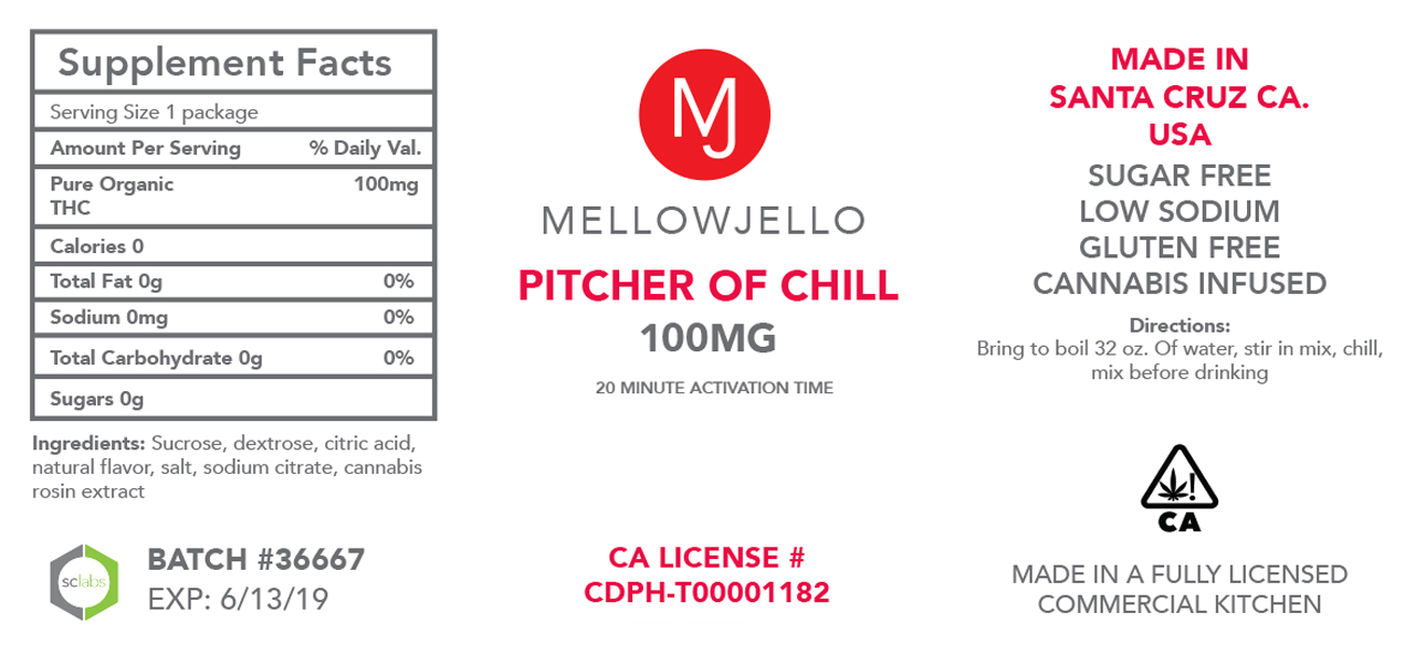 Pitcher of Chill Mix - 10-Pack
